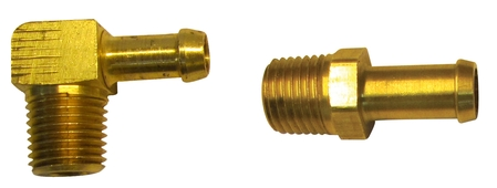 Pipe Thread to Hose Barb Fittings