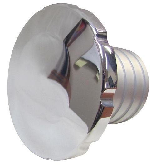 Low Profile Threaded Aluminum Filler Neck and Cap