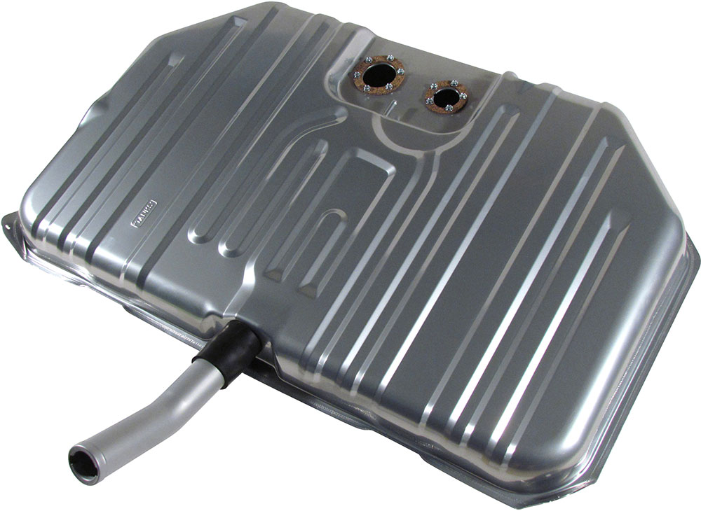 1971-1972 Buick Skylark and GS Notched Corner Gas Tank - For Fuel Injection