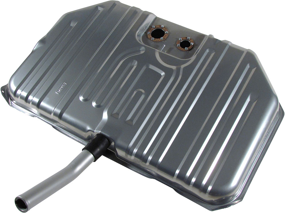1971-1972 Pontiac GTO and Lemans Notched Corner Gas Tank - For Fuel Injection