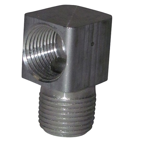 "3/8"" NPT to 3/8"" NPT Aluminum Street Elbow"