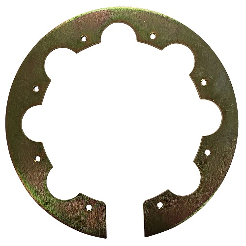 """PA Replacement 6"""" x 8 Hole Notched Threaded Mounting Ring"""