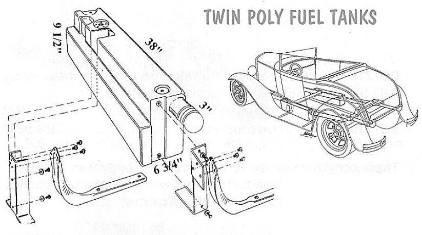 Rear Fill Saddle Tanks