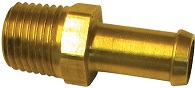 "1/4"" NPT to 3/8"" Hose Barb Straight Fitting"