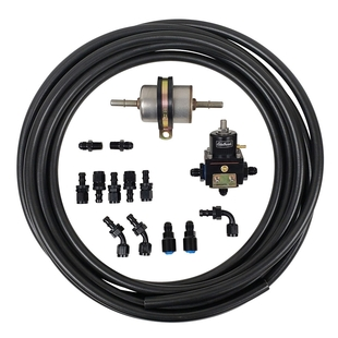 Carb Bypass Line Kit with 45 Degree Fittings