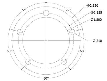 Sender Gasket Bolt Pattern