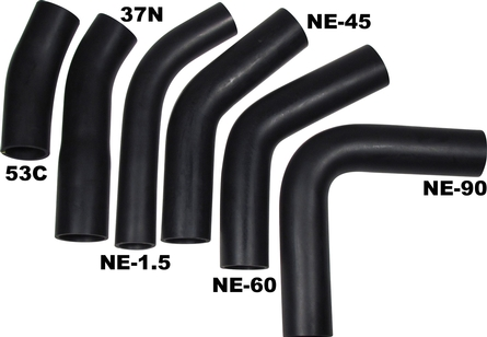 Rubber Fuel Transfer Hose Bends