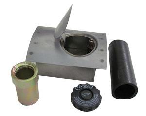 Fuel Filler Door Kit - Curved Face