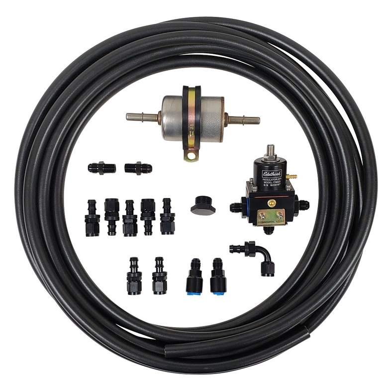 Fuel Line Kit for EFI Engines with Bypass Regulator