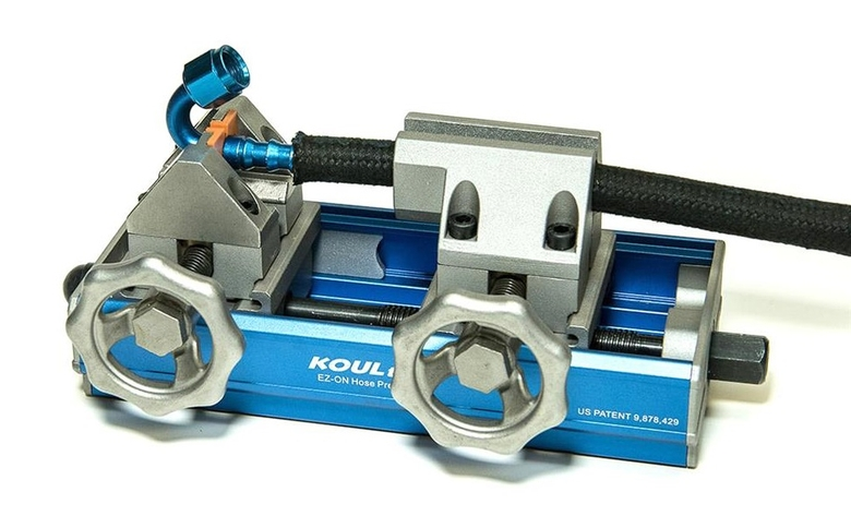 Koul Tools EZ-On AN Push Lock Hose Tool