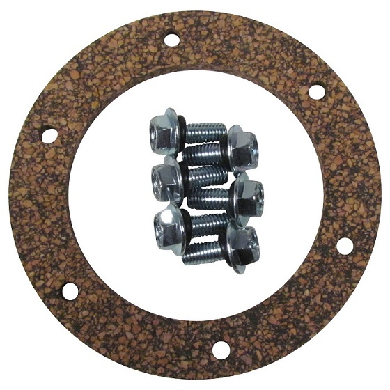 6 Hole Cork Gasket with 6 Screws