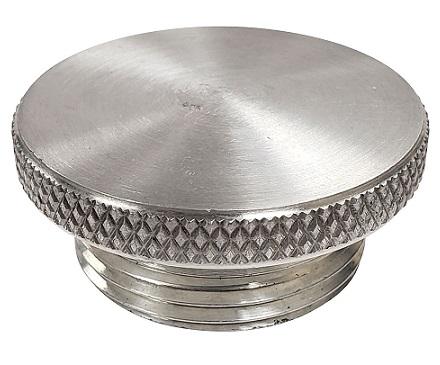 """Billet Aluminum Cap for 1-1/2"""" Bung or Grommet"""