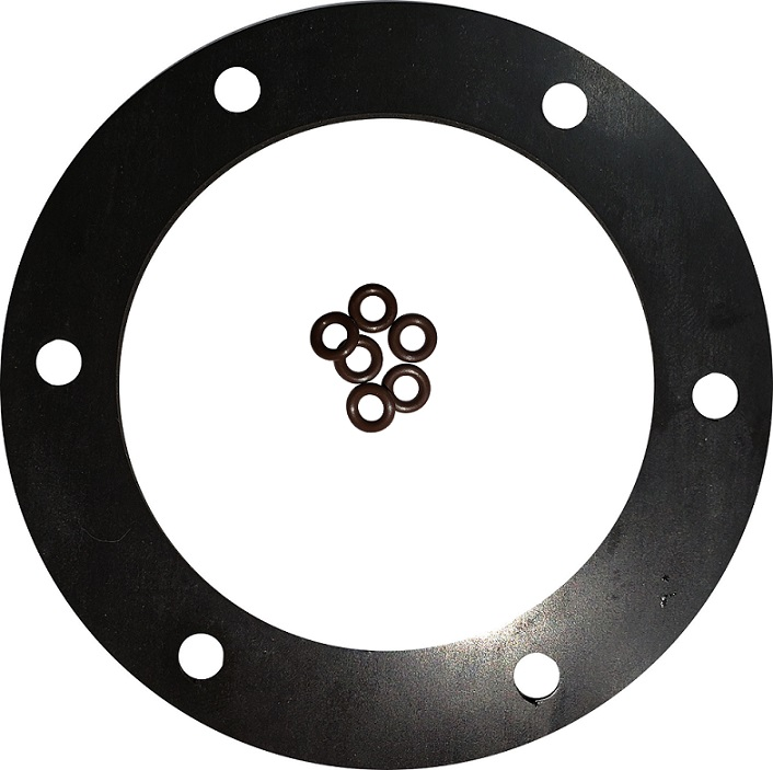6 Hole Viton Fuel Flange Gasket with O-Rings