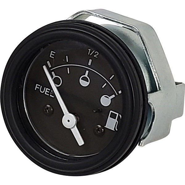 "2-1/16"" Fuel Level Gauge Black, 240-33 Ohm"