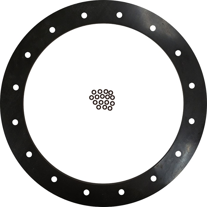 PA Series Pump Viton Gasket - 16 Hole with O-Rings