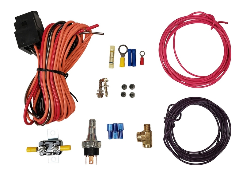 Fuel Pump Oil Pressure Safety Switch and Relay Wiring Kit