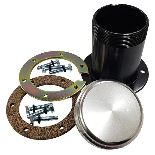 Bolt-on Neck Kit with Billet Aluminum  Fuel Cap