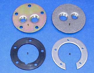 Threaded  Mild Steel Plates And Gaskets