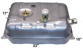 Universal Steel Fuel Tank - USPT Series