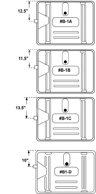 B1 Gas Tank Filler Neck Options