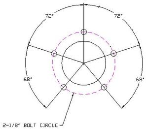 Sender Bolt Pattern