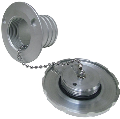 Low Profile Aluminum Gas Cap