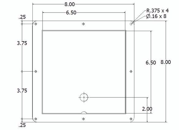 Access Door Drawing