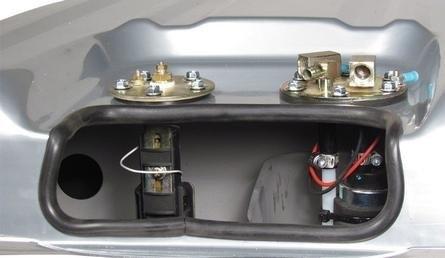 57 Chevy Gas Tank Internal Baffling