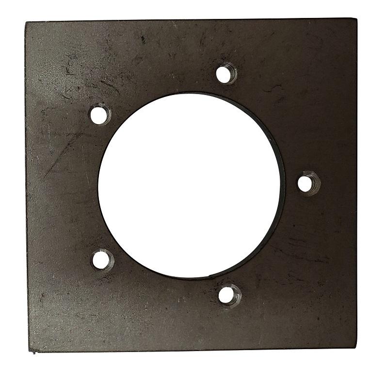 SP-MS 5 Hole Fuel Sender Mounting Plate - Steel