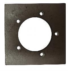 SP-MS 5 Hole Fuel Sender Mounting Plate - Steel